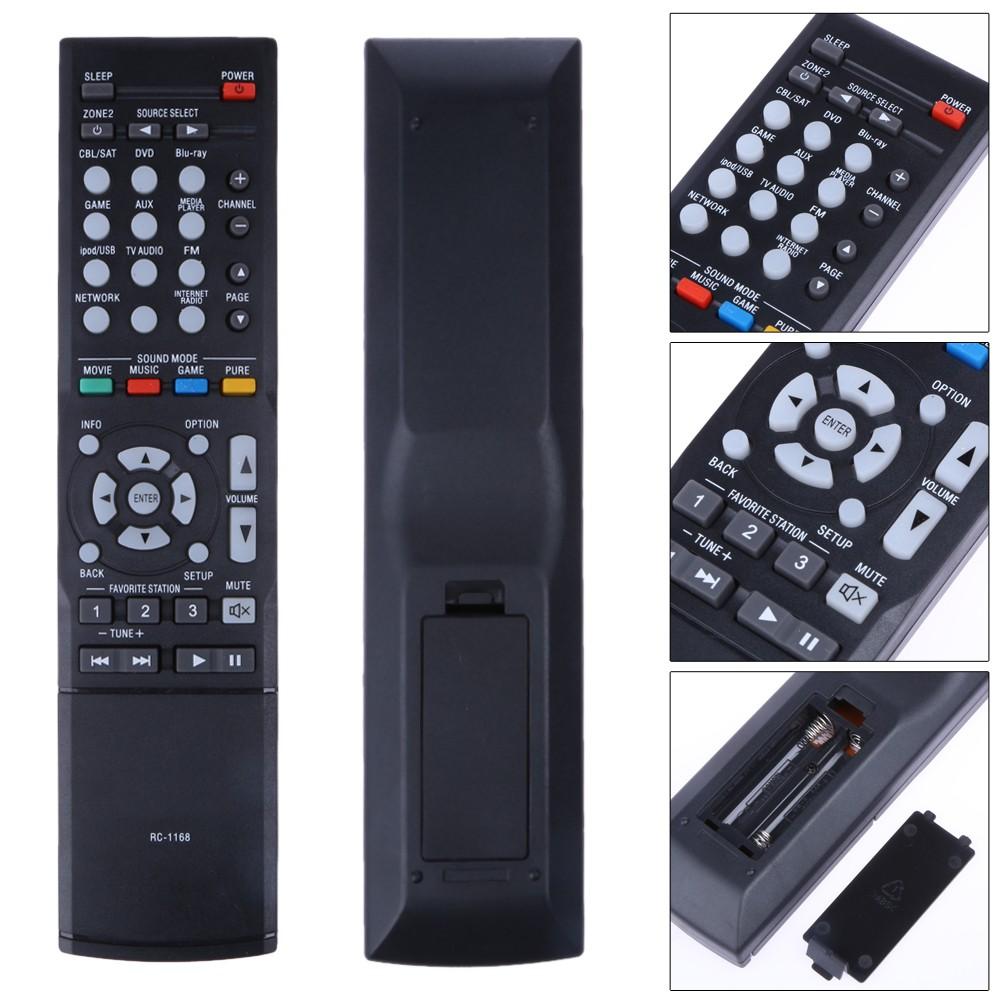 Điều khiển từ xa màu đen chất lượng cao dành cho DENON AVR 1613 AVR 1713 1912 1911 2312 3312 43