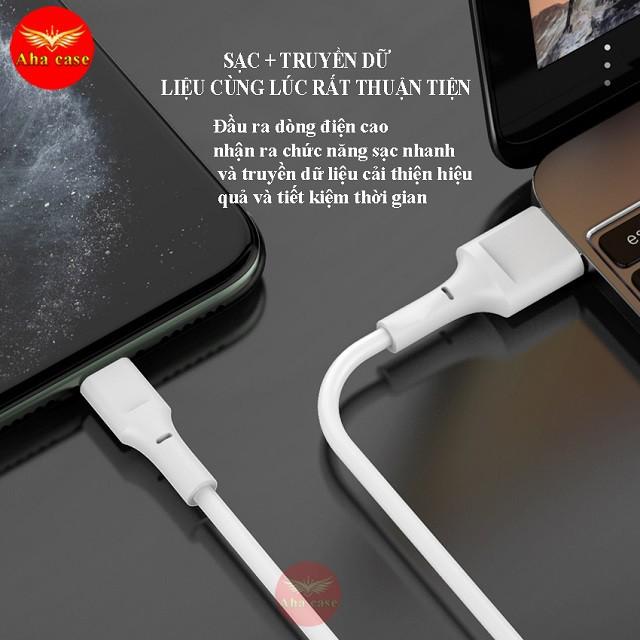 Cáp sạc M4 [Loại Xịn+Siêu rẻ] Dây cáp chính hãng SD Design chân sạc Micro dùng cho samsung, oppo, tai nghe, sạc dự phòng