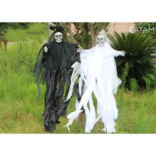 Con ma cô dâu đen trắng điện tử HLW-MT-01 TAN