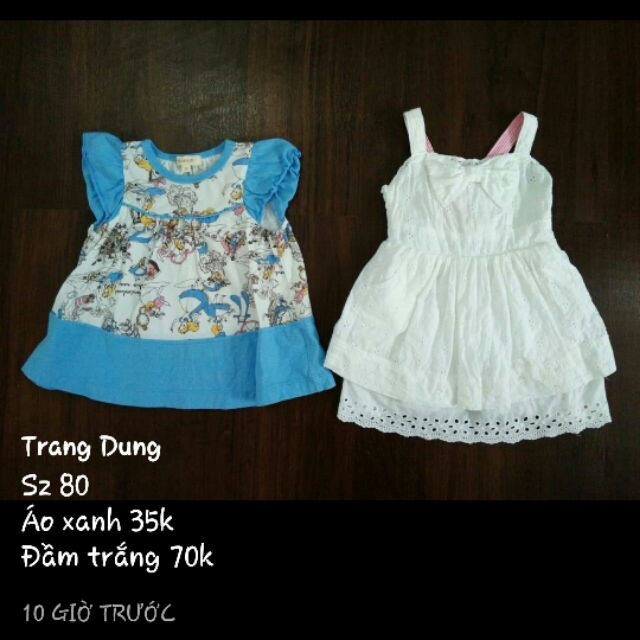 Mình bán quần áo đầm váy bé gái cho bạn Ngọc Trang shopee với chất liệu mềm mịn co dãn và thoáng mát.