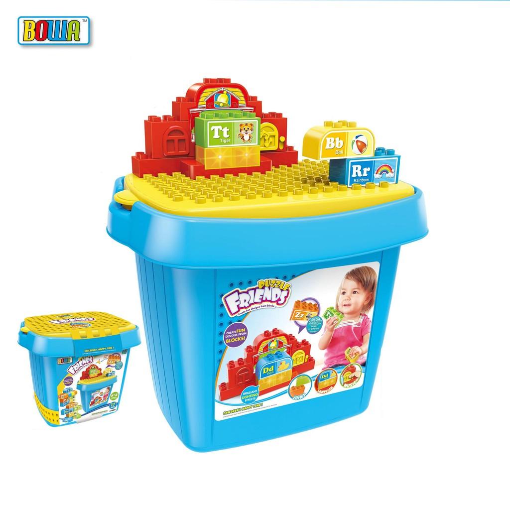 Bộ đồ chơi nhập vai BOWA 8401 - Xếp hình