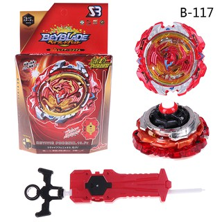 Beyblade burst B-117 starter set with launcher grip kids gift toys