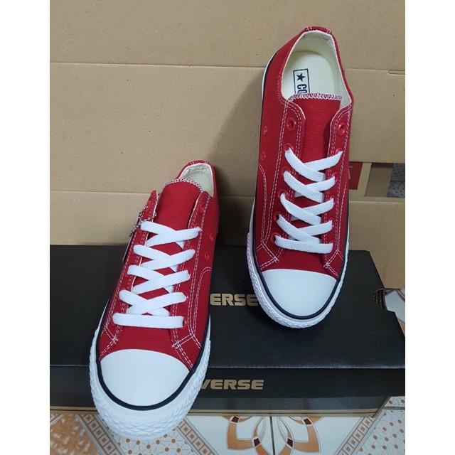 [SALE OFF] Giày Converse 1970s màu đỏ thấp cổ