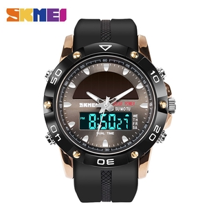 SKMEI solar rechargeable Dual display watch sports outdoor 1064 thumbnail