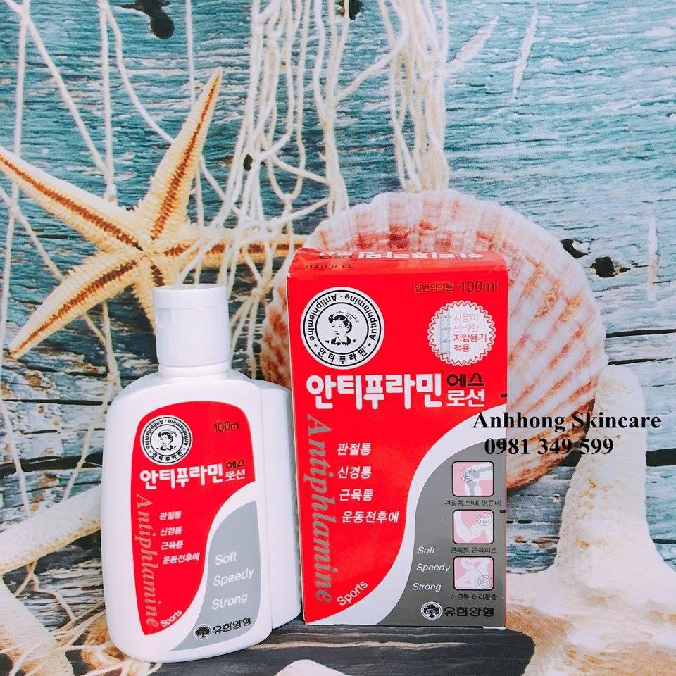 Dầu nóng xoa bóp Antiphlamine Hàn Quốc 100ml giảm nhức mỏi khớp - 3229048 , 702588524 , 322_702588524 , 85000 , Dau-nong-xoa-bop-Antiphlamine-Han-Quoc-100ml-giam-nhuc-moi-khop-322_702588524 , shopee.vn , Dầu nóng xoa bóp Antiphlamine Hàn Quốc 100ml giảm nhức mỏi khớp