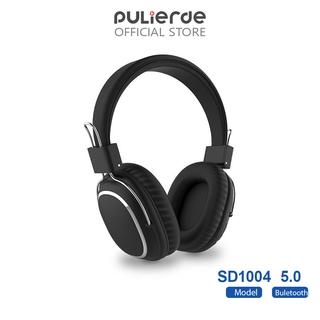 Tai Nghe Không Dây Pulierde Sd14 Bluetooth 5.0 Với Micro Hỗ Trợ Thẻ TF Âm Thanh Nổi Có Thể Gập Lại
