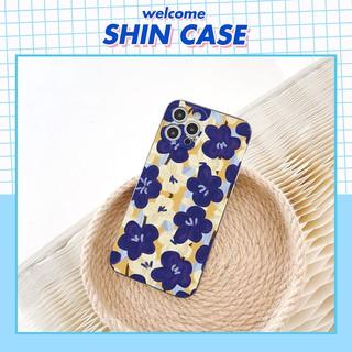 Ốp lưng iphone Hoa oải hương cạnh vuông 5 5s 6 6plus 6s 6splus 7 7plus 8 8plus x xr xs 11 12 pro max plus promax thumbnail