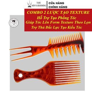 Lược tạo kiểu tóc nam - Lược tạo phồng tóc - Lược AFRO PICK - Lược XƯƠNG CÁ thumbnail