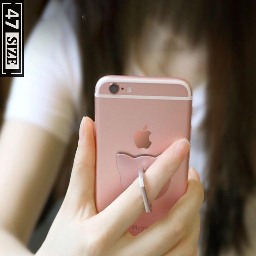 Nhẫn đỡ điện thoại chống rơi chắc chắn, xoay 360 độ tiện lợi [HÀNG XỊN]