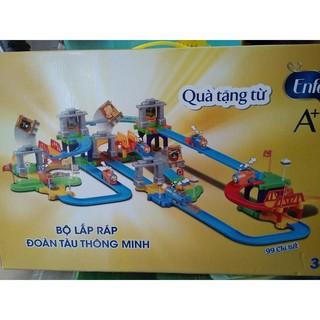 [Hanoi 150k fs] Đồ chơi lắp ráp mô hình đoàn tàu thông minh