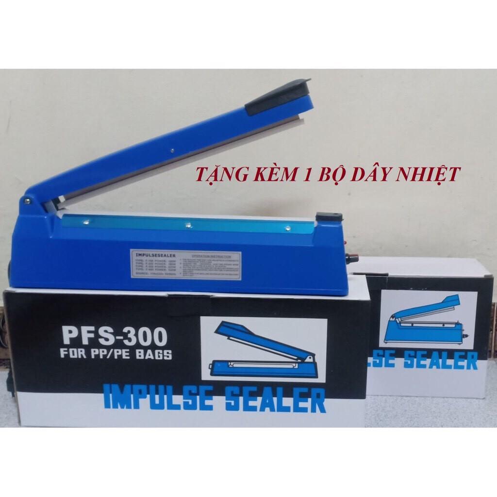 Máy hàn miệng túi PFS-300 Chiều dài đường hàn 30 cm