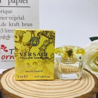 [Bill US]Nước Hoa Mini Nữ Versace Yellow Diamond EDT 5ml thumbnail