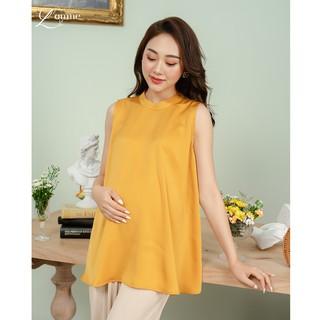 Áo bầu Kelly Top chất vải lụa cao cấp cho cảm giác mát, thoải mái khi mặc được thiết kể bởi LAMME thumbnail