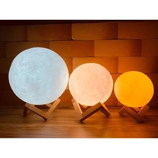 Đèn Ngủ Mặt Trăng Led Moon Light 3D Để Bàn, Trang Trí Phòng Ngủ Siêu Đẹp.