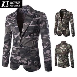 Áo Khoác Vest Họa Tiết Rằn Ri Thời Trang Thanh Lịch Cho Nam