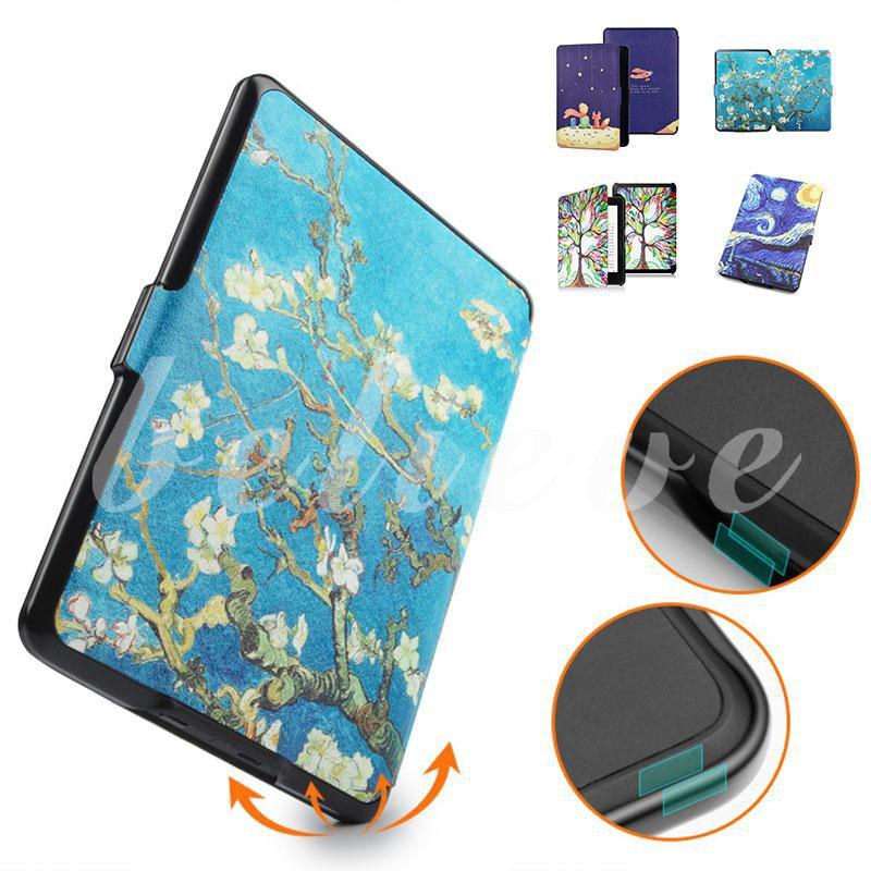 Bao giả da PU có đệm bảo vệ cho máy tính bảng Kindle e-book 2 / 3 H717