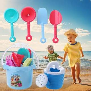 ★Lp★9pcs/set Baby Shower Playing Water Kettle Bucket Beach Sand Play Toys