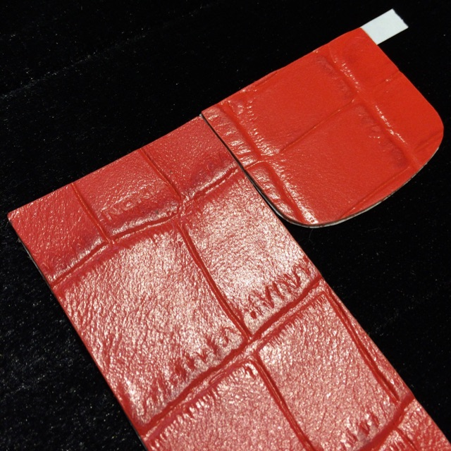 Miếng Dán Da Cá Sấu Nokia 8800 Đỏ
