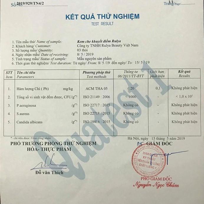 Kem Che Khuyết Điểm RULYA RUBY SUNCREEN ECO Cao Cấp An Toàn Cho Da