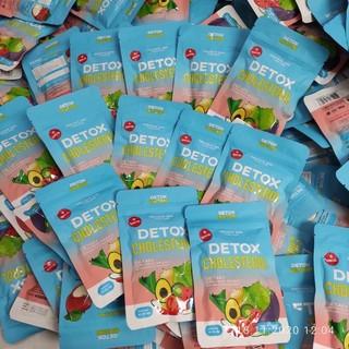Detox cholesterol giấm táo- giảm cân Thái Lan [giành cho cơ địa khó giảm] giảm cân nhanh- giảm ngay 2-4kg thumbnail