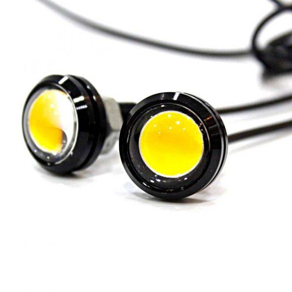Bộ 2 đèn xi nhan nút áo cho xe máy cực chất - Kmart