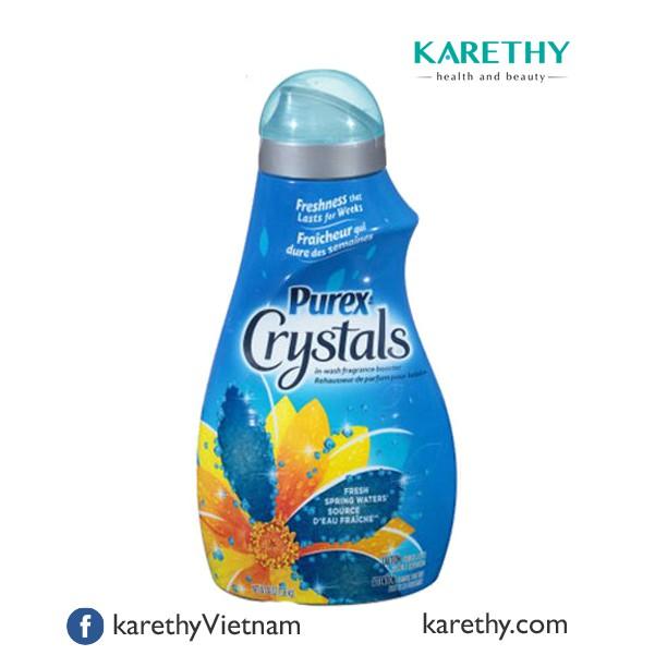 Hạt Xả Làm Mềm Vải Purex Crystal Fresh Spring Waters (1,36 kg)