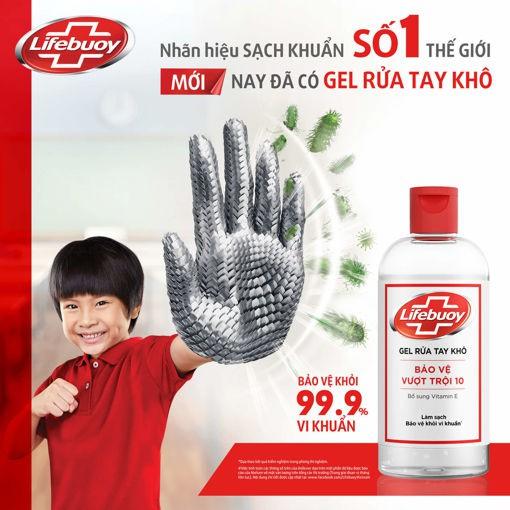 Gel rửa tay khô siêu nhanh Lifebuoy 50/100ml