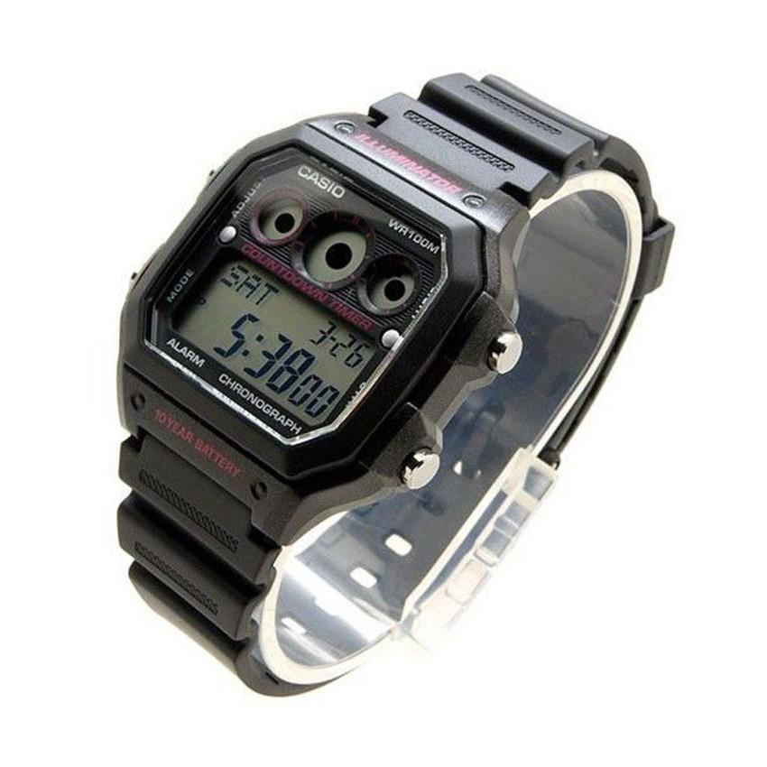 Đồng hồ nam Casio CHÍNH HÃNG AE-1300WH-1A2VDF