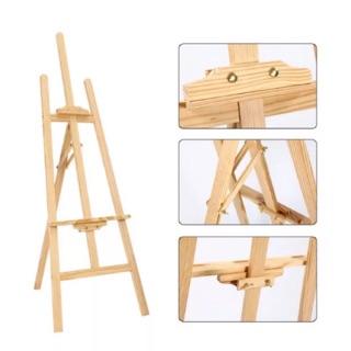 Giá vẽ mỹ thuật gỗ thông nhập khẩu – Giá vẽ bằng gỗ đa năng điều chỉnh độ cao chịu lực tốt