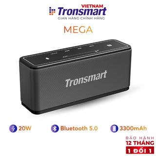 Loa Bluetooth 5.0 Tronsmart Element Mega - 40W Hỗ trợ TWS và NFC ghép đôi 2 loa - Hàng chính hãng - BH 12 tháng 1 đổi 1