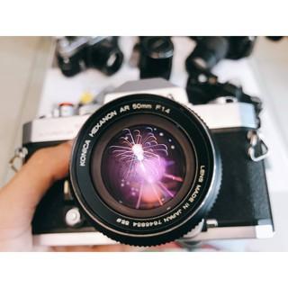 Ống kính MF Konica Hexanon AR 50mm F1.4 thumbnail