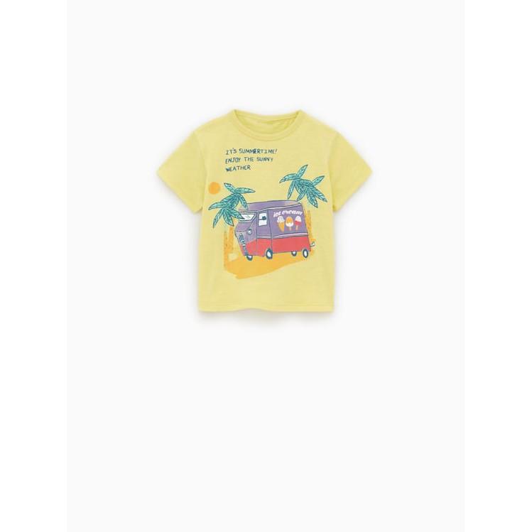 Áo phông Zara icec cream size 12-18, 18-24m, 2-3y_hàng xách tay TBN