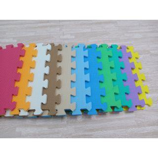 Combo 10 miếng thảm lắp ghép nhiều màu