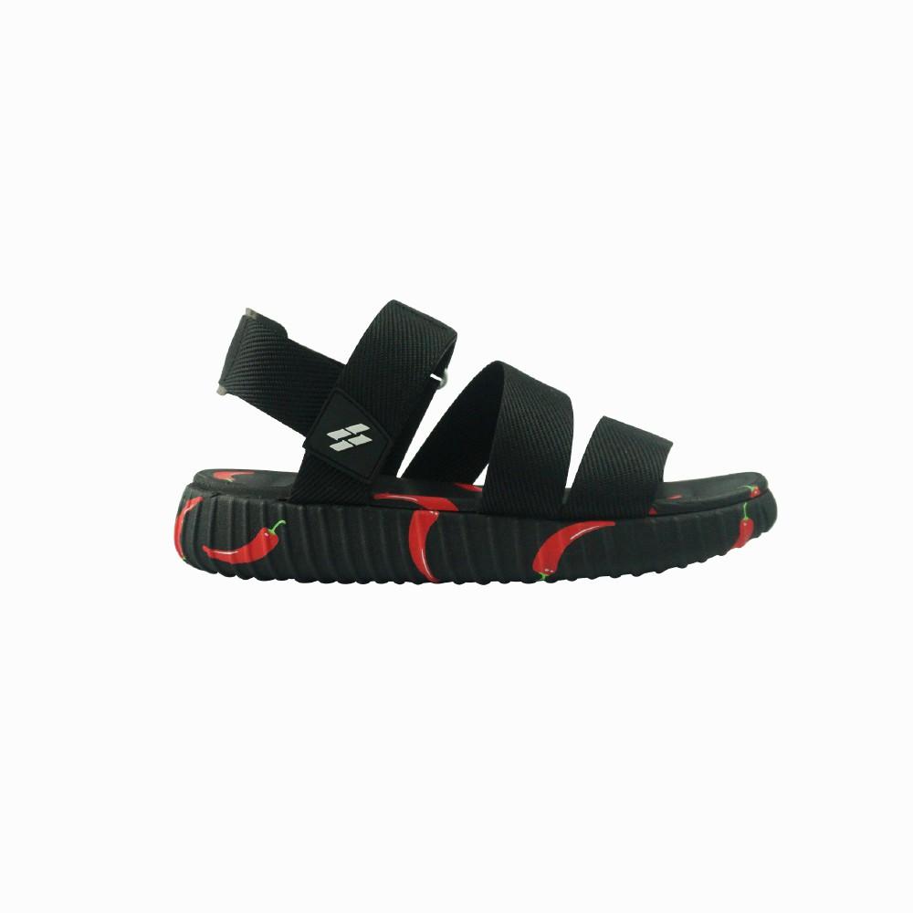 Giày sandal Saado Nữ SC01 - Yezi Special Black Chili