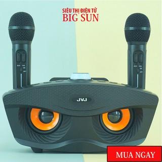 ✨chính hãngLoa kèm micro hát karaoke Bluetooth SD-306 Không dây- tặng kèm 2 mic - BH 6 THÁNG