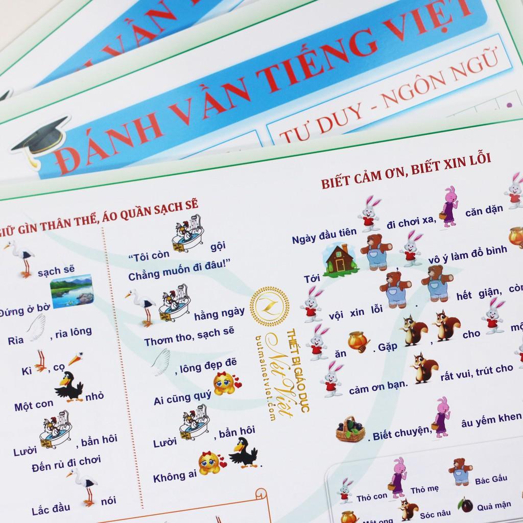 Vở Đánh vần tập đọc cho bé 5-6 tuổi - tư duy ngôn ngữ | Nông Trại Vui Vẻ -  Shop