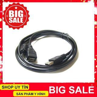 Dây nối dài USB 1.5m (có cục chống nhiễu)