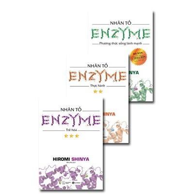 sách- combo 3 cuốn nhân tố enzyme( diepthanvp)