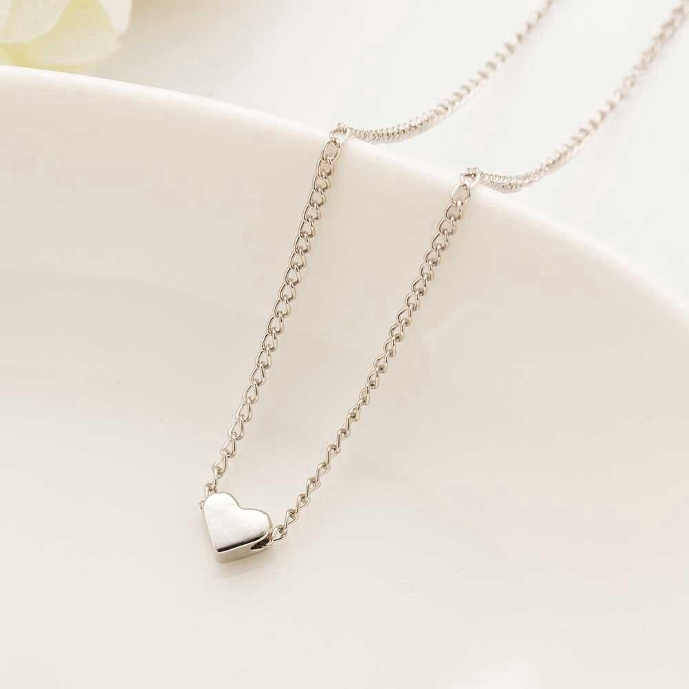Vòng cổ ngắn mặt trái tim nhỏ đáng yêu thời trang cho nữ