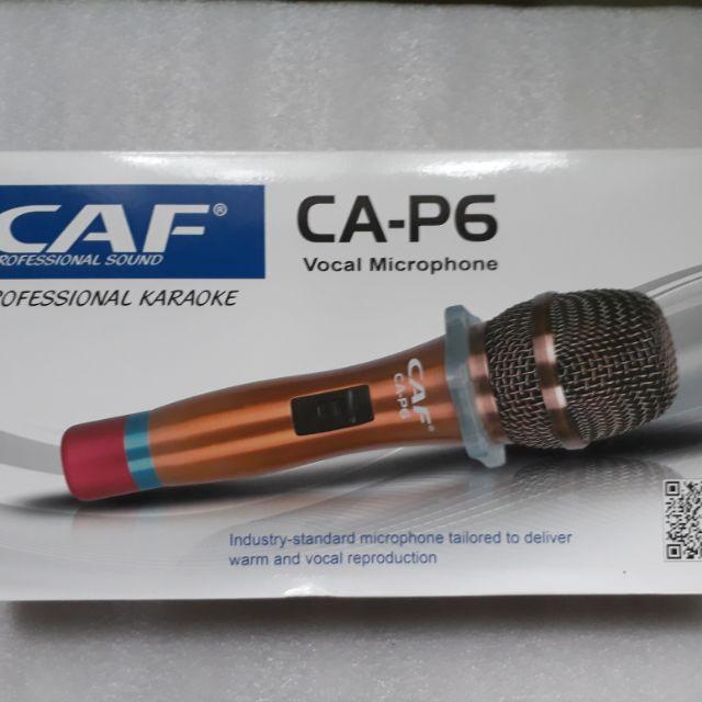 Mic dây CAF CA - P6 - 14896523 , 885774890 , 322_885774890 , 290000 , Mic-day-CAF-CA-P6-322_885774890 , shopee.vn , Mic dây CAF CA - P6