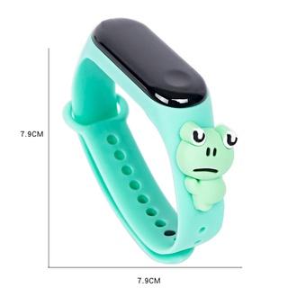 Cleoes Đồng Hồ Đeo Tay Điện Tử Màn Hình Led Chống Nước In Hình Pikachu Cho Bé Trai Bé Gái