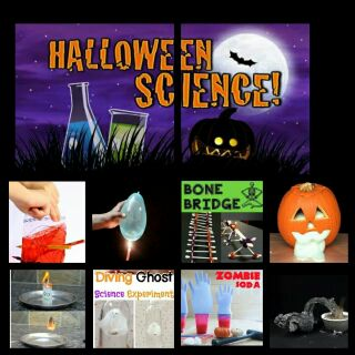 Combo Kit thí nghiệm Halloween Kỳ bí