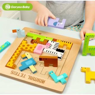 Trò chơi xếp gạch pentomino chủ đề động vật Goryeo Baby Hàn Quốc