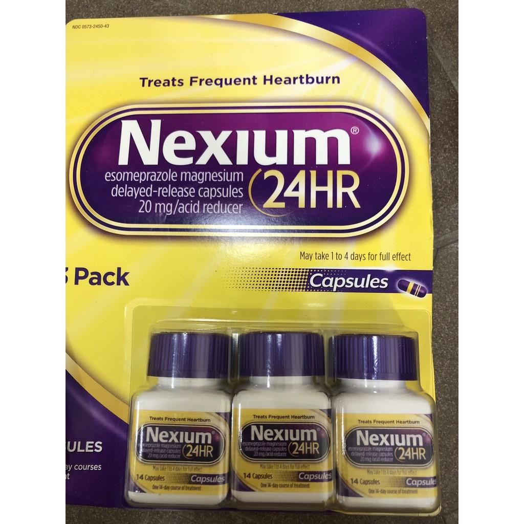Hộp Nexium 24HR hỗ trợ điều trị bệnh viêm loét dạ dày 14 viên - 2400440 , 1254651482 , 322_1254651482 , 200000 , Hop-Nexium-24HR-ho-tro-dieu-tri-benh-viem-loet-da-day-14-vien-322_1254651482 , shopee.vn , Hộp Nexium 24HR hỗ trợ điều trị bệnh viêm loét dạ dày 14 viên