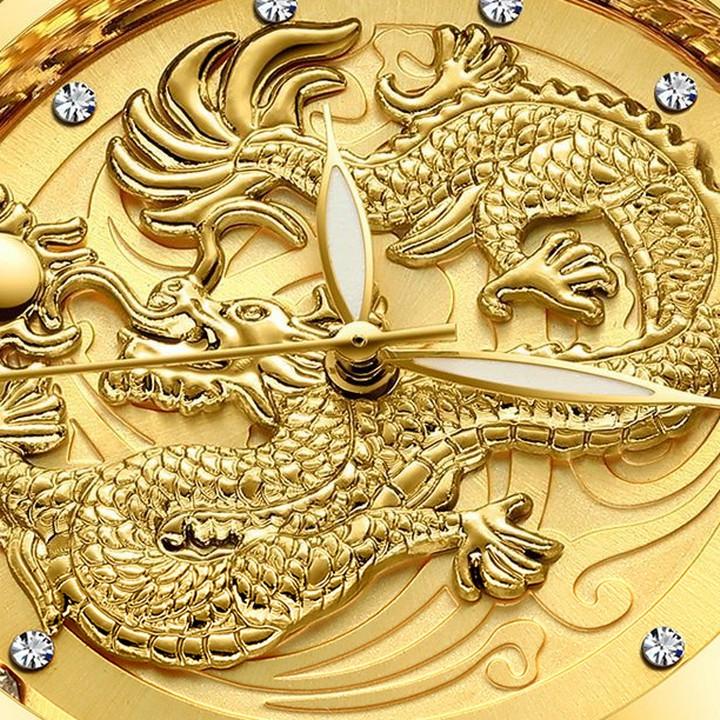 Đồng Hồ Nam Rồng Vàng FNGEEN