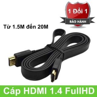 Dây HDMI DẸP 1.5M /3M /5M – chuẩn 1.4Full HD
