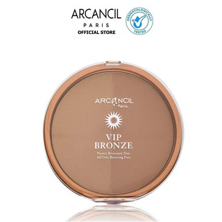 Phấn tạo khối Arcancil dành cho mặt VIP Bronze Maxi duo bronzing powder Tan enhancer 30g thumbnail