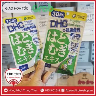 Viên uống trắng da DHC Adlay Extract Nhật Bản thumbnail