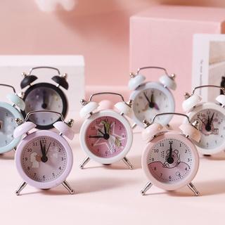 Đồng hồ để bàn đơn giản với nhiều mẫu Cute, Đồng hồ báo thức dành cho học sinh sinh viên nhỏ gọn. thumbnail