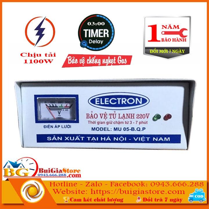 Bảo vệ tủ lạnh và các thiết bị điện 220V
